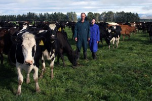 Doris & Josh as featured in the Dairyman May 2011